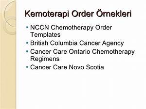 onkolojide internet kullanimi With nccn chemotherapy order templates