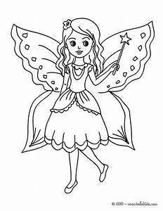 fairy coloring pages for kids - fee mit schmetterling zum ausmalen zum ausmalen de