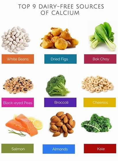 Calcium Foods Rich Vegetables Vitamin Sources Vitamins