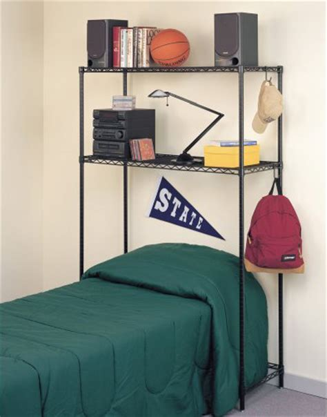 the bed storage shelves intermetro over bed storage shelf in intermetro shelving units