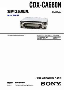 Sony Cdx Gt510 Wiring Diagram