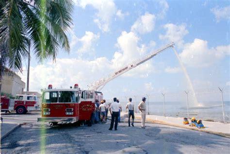 florida memory key west fire department  ladder truck