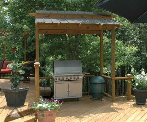 images  bbq overhangs protect  chef  pinterest arbors wood storage