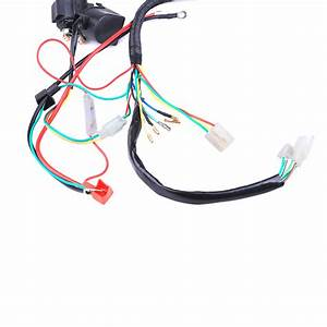 50  70  110  125cc Wire Harness Wiring Cdi Assembly Atv Quad Coolster