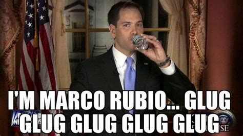 Marco Rubio Memes - marco rubio s water break know your meme