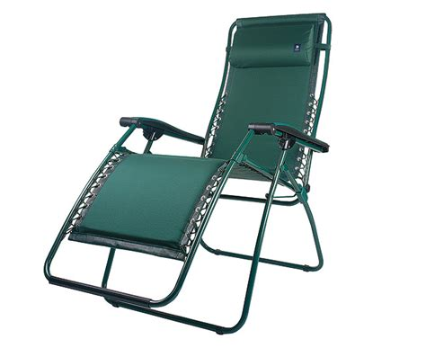 lafuma reclining chair green