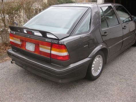 Purchase Used 1988 Saab 9000 Turbo Carlsson Edition In