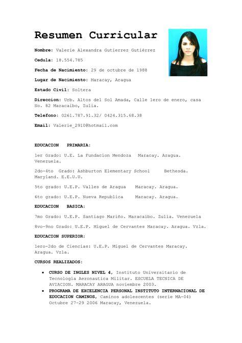 resumen curricular by y2038o pictureicon