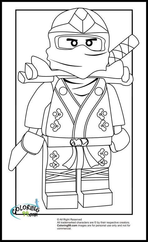 lego ninjago lloyd  green ninja coloring pages