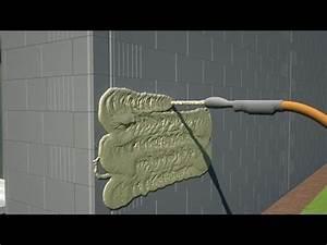 Comment Faire Enduit Imitation Pierre : enduit facade et interieur en 3d d 39 une maison individuelle ~ Melissatoandfro.com Idées de Décoration