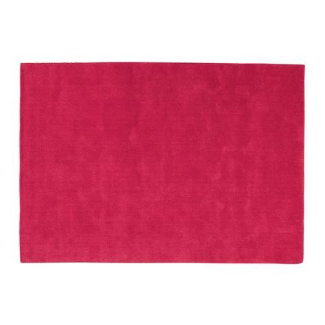 tapis soft rouge 160x230 maisons du monde