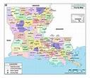 MOW AMZ on | County map, Louisiana parish map, Louisiana ...