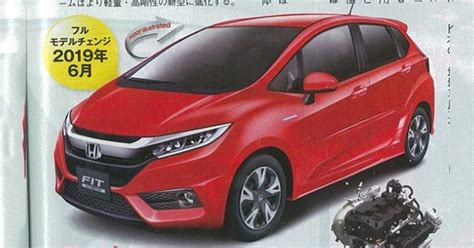 2019 Honda Jazz Rendered  Nextgen Reportedly 30 Kg