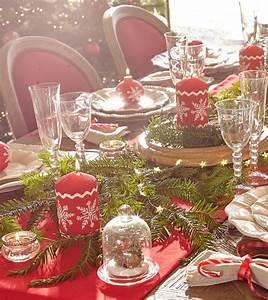 Table De Noel Traditionnelle : d co no l 2015 une d co de no l traditionnelle ~ Melissatoandfro.com Idées de Décoration