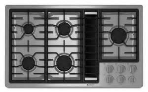 jenn air appliances reviews  rankings jgdw jenn air  gas downdraft cooktop jenn