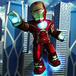 Tycoon Roblox Superhero Icon Icons Robux Iron
