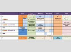 Vorlage Schuljahresplanung für Lehrpersonen Schule 20