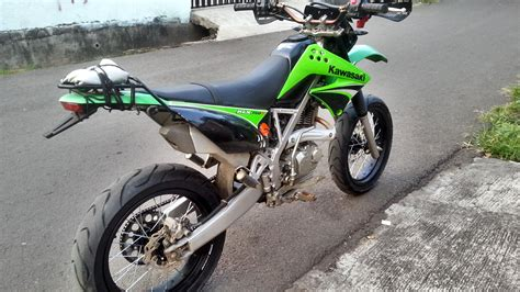 Modification Kawasaki Klx 250 by Motor Trail Kawasaki Klx 250 Modif Impremedia Net