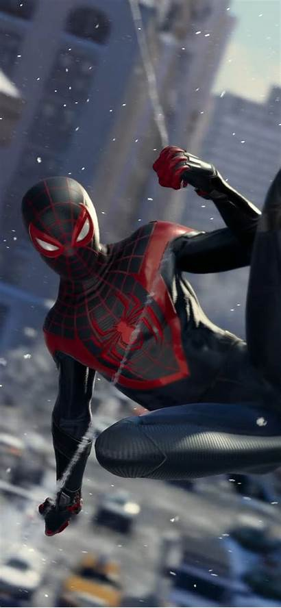Morales Miles Spider Iphone Wallpapers Max Spiderman