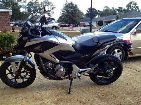 Here's My New Honda Nc700x Motorcycles