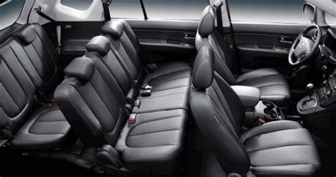 interieur q7 7 places kia carens voiture 7 places avec taille moyenne voiture