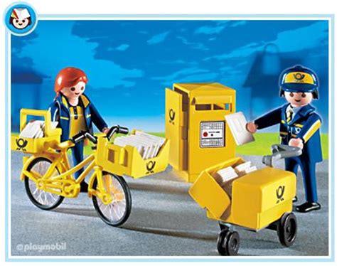 bureau de poste playmobil 14c spécial métiers quot banque poste taxi