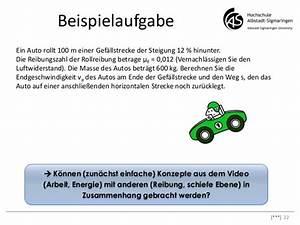 Rollreibung Berechnen : aktivierung durch inverted classroom icm marburg 2013 ~ Themetempest.com Abrechnung