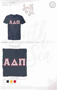 17 best images about alpha delta pi on pinterest scripts With custom greek block letter shirts