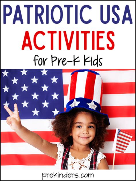 america unit prekinders 545 | patriotic usa america activities preschool