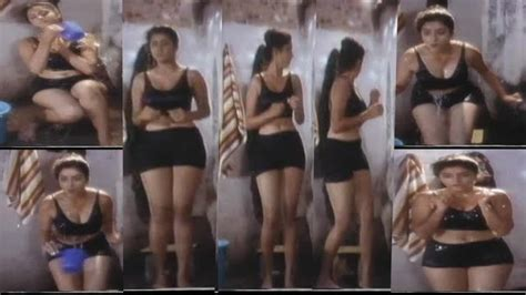 Teasing Bollywood Pics Divya Bharathi Hot Thigh Cleavage