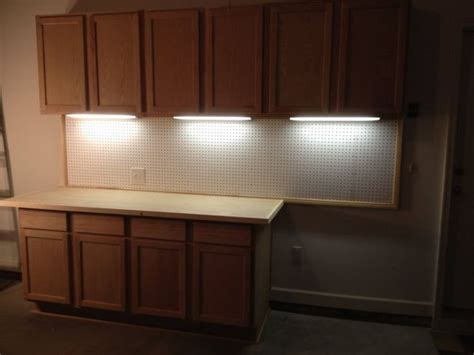 diy garage cabinets   cabinet lighting  tron