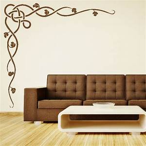 Stencils for living room walls peenmediacom for Interior decoration wall stencils