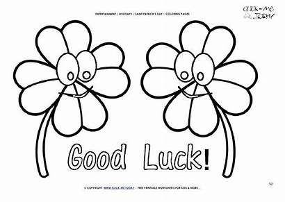 Luck Coloring Pages Lucky St Leaf Bear