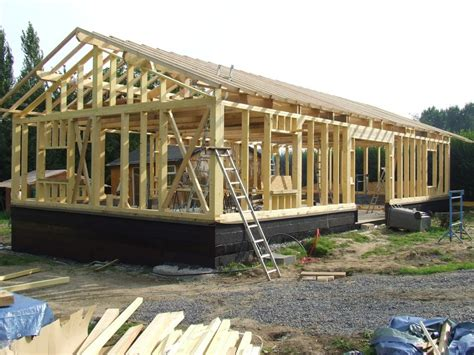maisons bois en kit autoconstruction maison ossature bois en kit boismaison