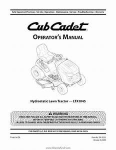 Cub Cadet Ltx 1045