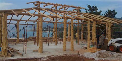 Tiki Hut Roof Construction by Tiki Hut Design Landscaping Network