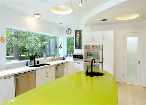 kitchen design with windows panoramic windows design and using in modern homes idea 4613