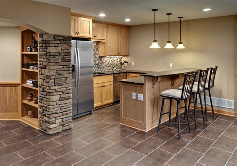 Kitchen Small Design Ideas - wet bars options and features design build planners