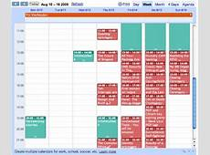 Sharing calendars with Google Calendar, iCal, and the