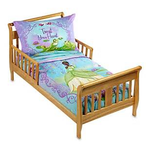 disney the princess and the frog 4 piece toddler bedding