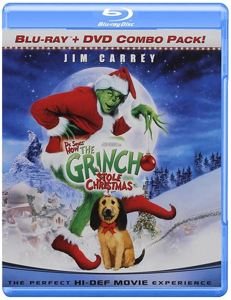 Dr Seuss How The Grinch Stole Christmas Blu Ray Dvd