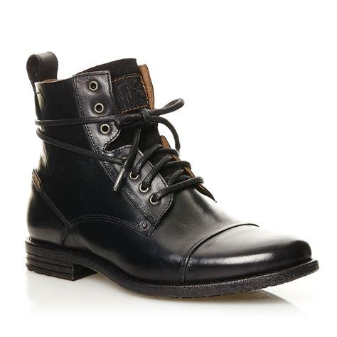 d馮lacer en cuisine levi 39 s emerson lace up boots en cuir noir brandalley