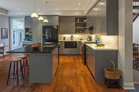 24+ Grey Kitchen Cabinets Designs, Decorating Ideas. Large Tile Kitchen Backsplash. Kitchen Cabinet Recessed Lighting. Kitchen Island Hoods. Tile Ideas For Kitchen Floors. Kitchen Integrated Appliances. How To Install Wall Tiles In Kitchen. Mini Appliances Kitchen. Kitchen Cieling Lights