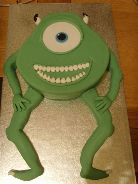 mike wazowski cakethe monsters