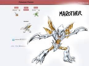 Pokemon fusion Marother