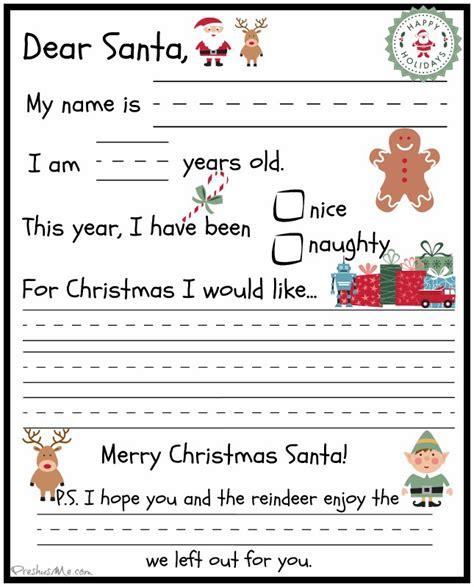 letters to santa preschooler letter to santa preshus me 78088