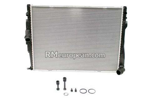 Bmw Z4 Sdrive30i Convertible E89 3.0l L6 Radiator