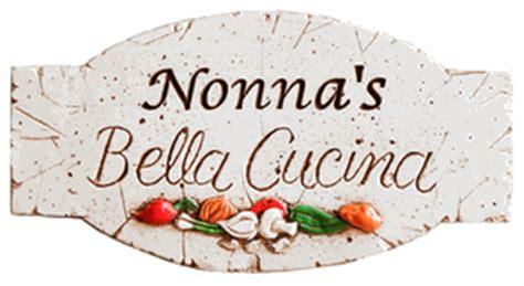 italian grandmother nonna kitchen sign italian