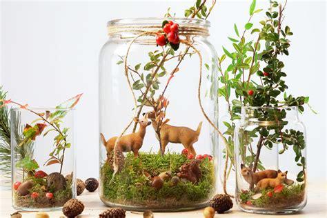 Schöne Herbstdeko Fenster by Herbstdeko Im Glas Gt Diy Herbstwald Im Glas Tantedine