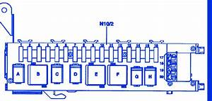 Mercedess C240 2009 Main Engine Fuse Box  Block Circuit Breaker Diagram